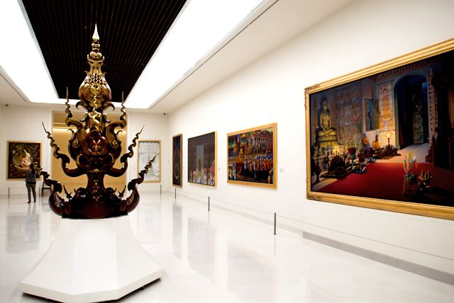 Bangkok's Museum of Contemporary Art, courtesy of MOCA