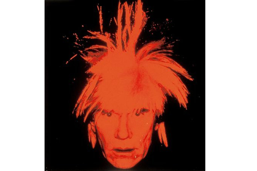 Andy Warhol's Self-Portrait (1986)