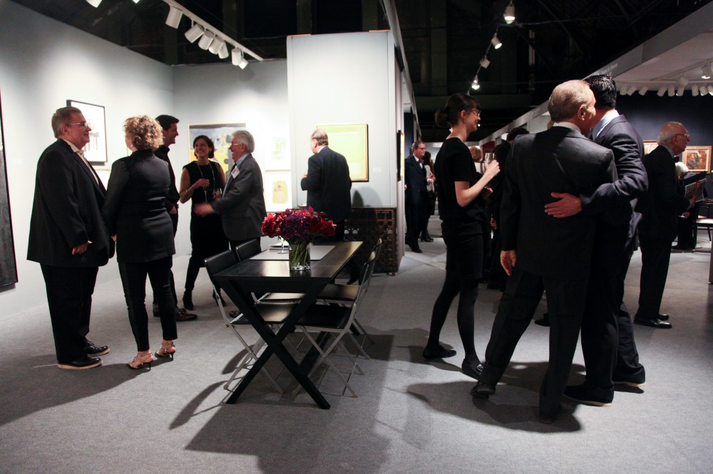 ADAA Art Show Gala Preview 2014