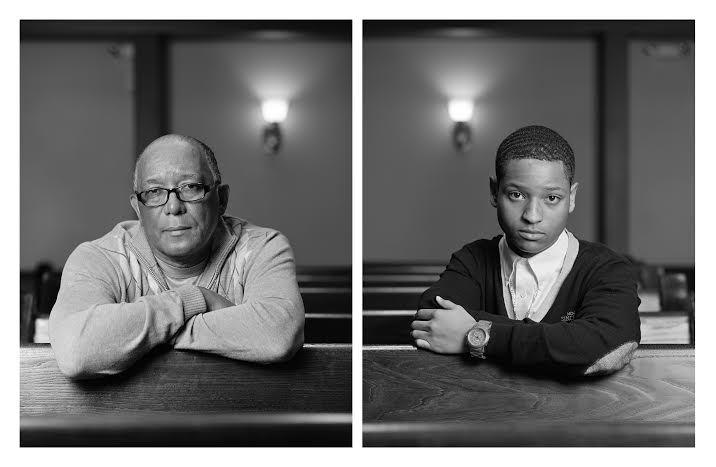 Wallace Simmons and Eric Allums, 2012. 40 x 64 inches (2). Archival pigment prints/dibond.