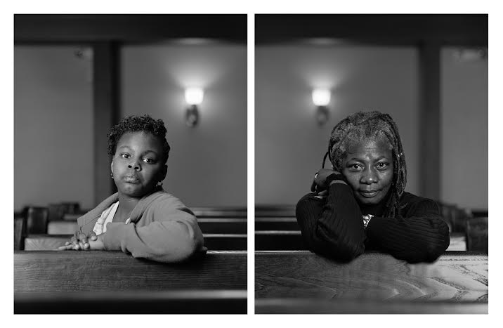 Mathes Manafee and Cassandra Griffin, 2012. 40 x 64 inches (2). Archival pigment prints/dibond.