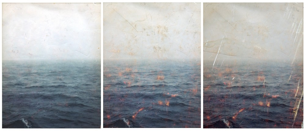 Graf, Sea Journal Triptych Combined