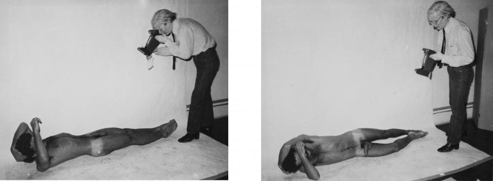 Andy Warhol, Victor Hugo, 1978 Vintage gelatin silver print