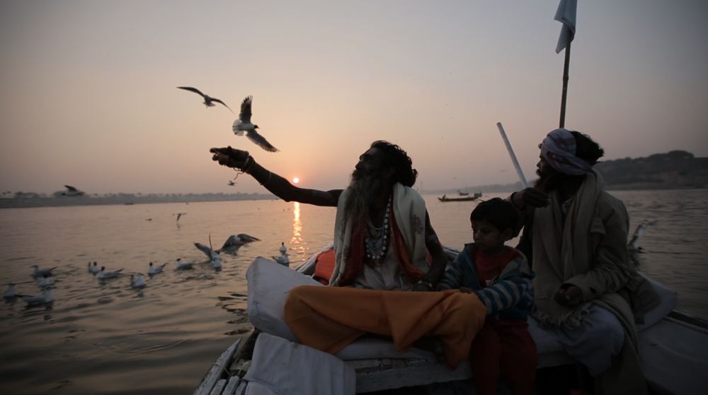 FaithConnections-Hatha Yogi Baba & Baby Bajrangi