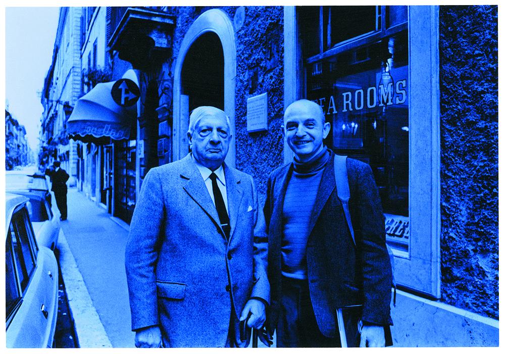44 With Giorgio de Chirico-s