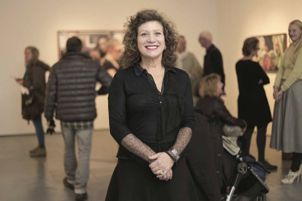 Julie Saul - gallery owner-cc