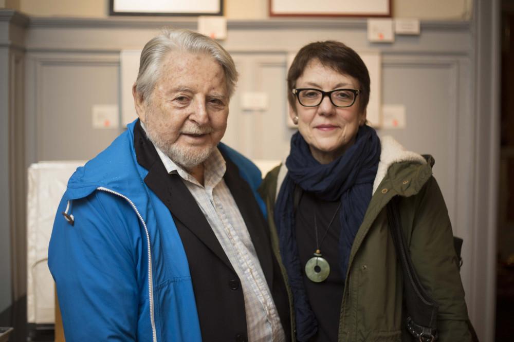 Len Speier, María Egurrola