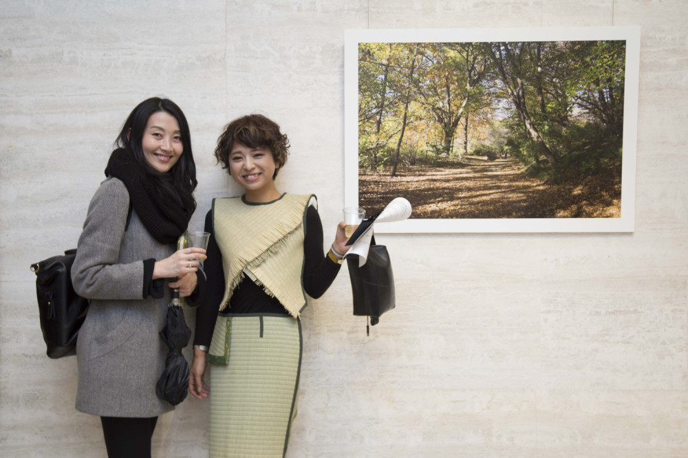 Mika Sairo, Suemi Tsumenaga - Misaki Matsui's We are the Universe Exhibit at Lobby Gallery