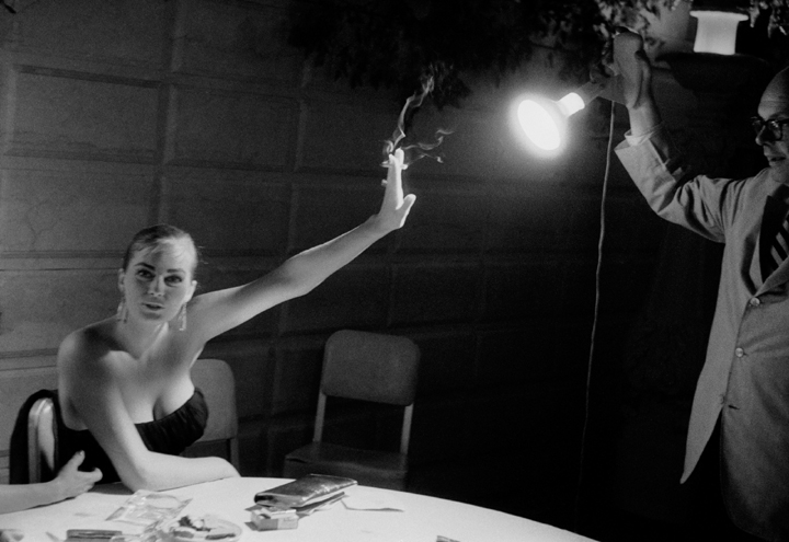 Phil Stern_ Anita Ekberg (Holding Back the Light), 1955
