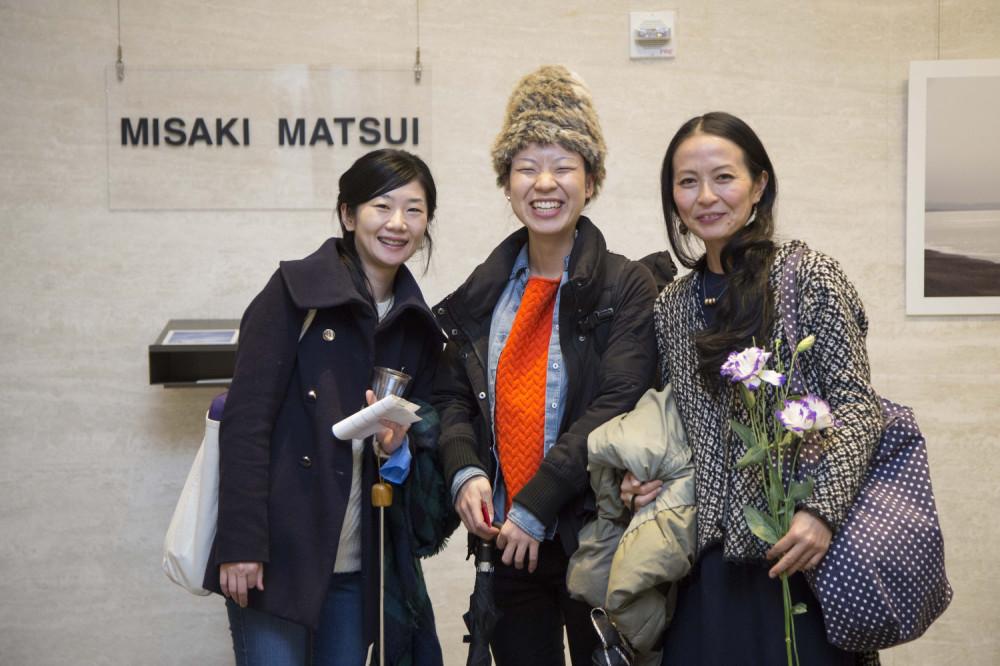 Yoko Naito, Akiha Yamakami, Makiko Onda - Misaki Matsui's We are the Universe Exhibit at Lobby Gallery