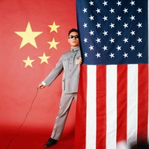 Tseng Kwong Chi. East Meets West Manifesto, 1983.