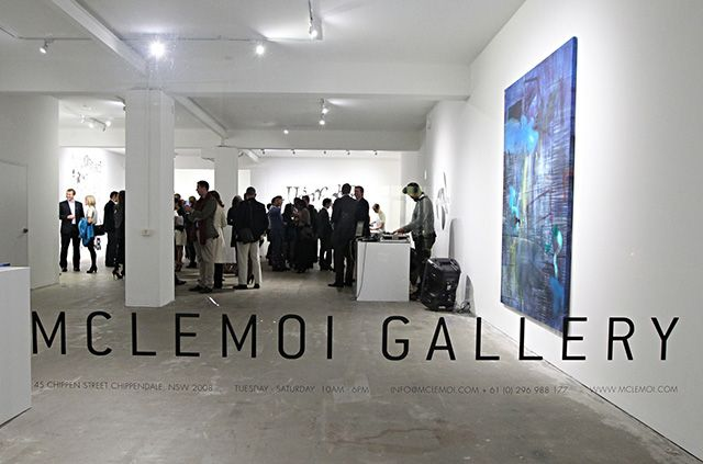 An opening at Mclemoi Gallery, courtesy of Mclemoi Gallery