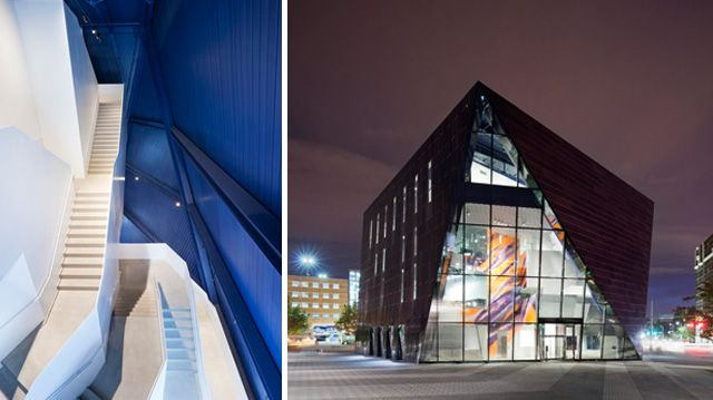Cleveland Museum of Contemporary Art -- Photos by Dean Kaufman