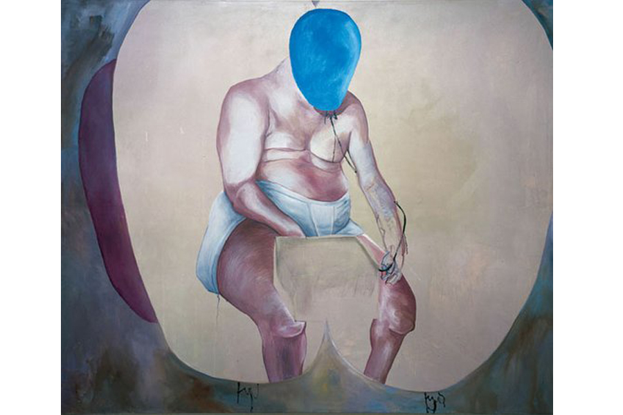 Martin Kippenberger's Self-Portrait (1988)