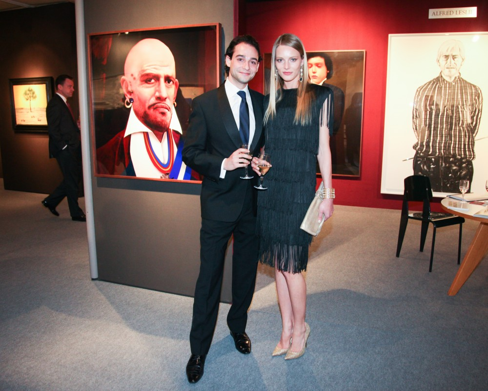 ADAA Art Show Gala Preview 2014