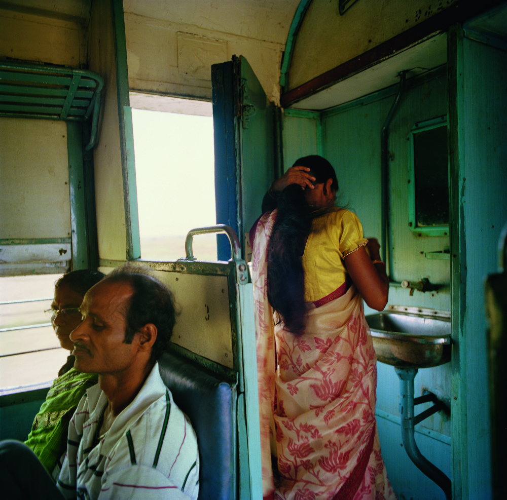 Patrick_Faigenbaum_Dans le Shantiniketan Express, mai 2014