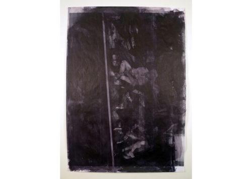 Image above: ©David Thomas, Violet (Dark) MACBA, 2015, Acrylic and photocopy on pape