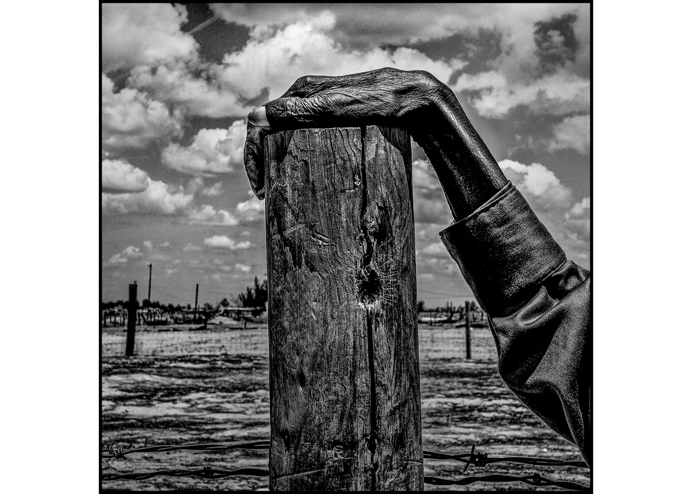 Image above: ©Matt Black, USA. Allensworth, California. 2014. Fence post. Allensworth has a population of 471 and 54% live below the poverty level / Courtesy of Magnum Photo