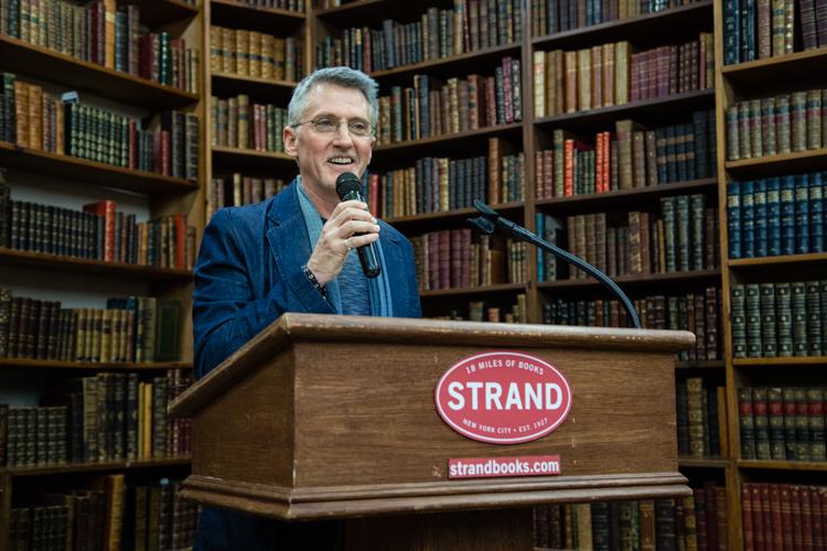 Image above: ©Elizabeth Mealey, Edward Mapplethorpe at Strand Bookstore, 2016