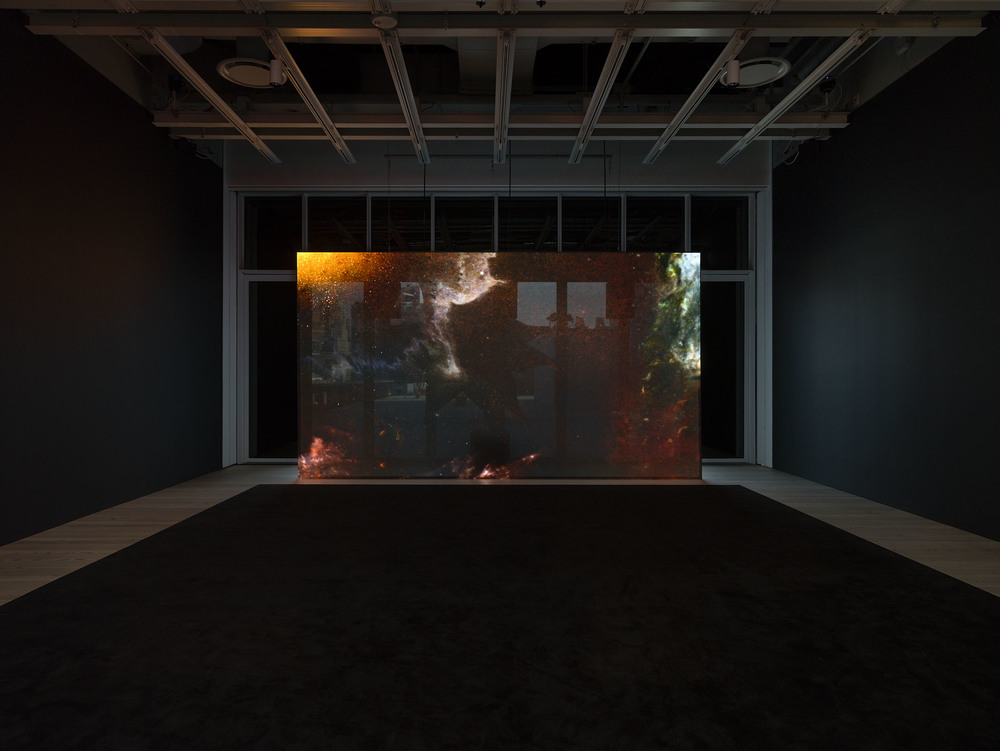 Installation view: Rachel Rose. Everything and More (October 30, 2015 – February 7, 2016) Whitney Museum of American Art, N.Y. Photography by Ron Amstutz
