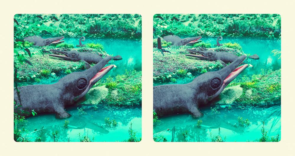 Image above: ©Jim Naughten,Ichthyosaurus, 2016 / Courtesy of Klompching Gallery, New York