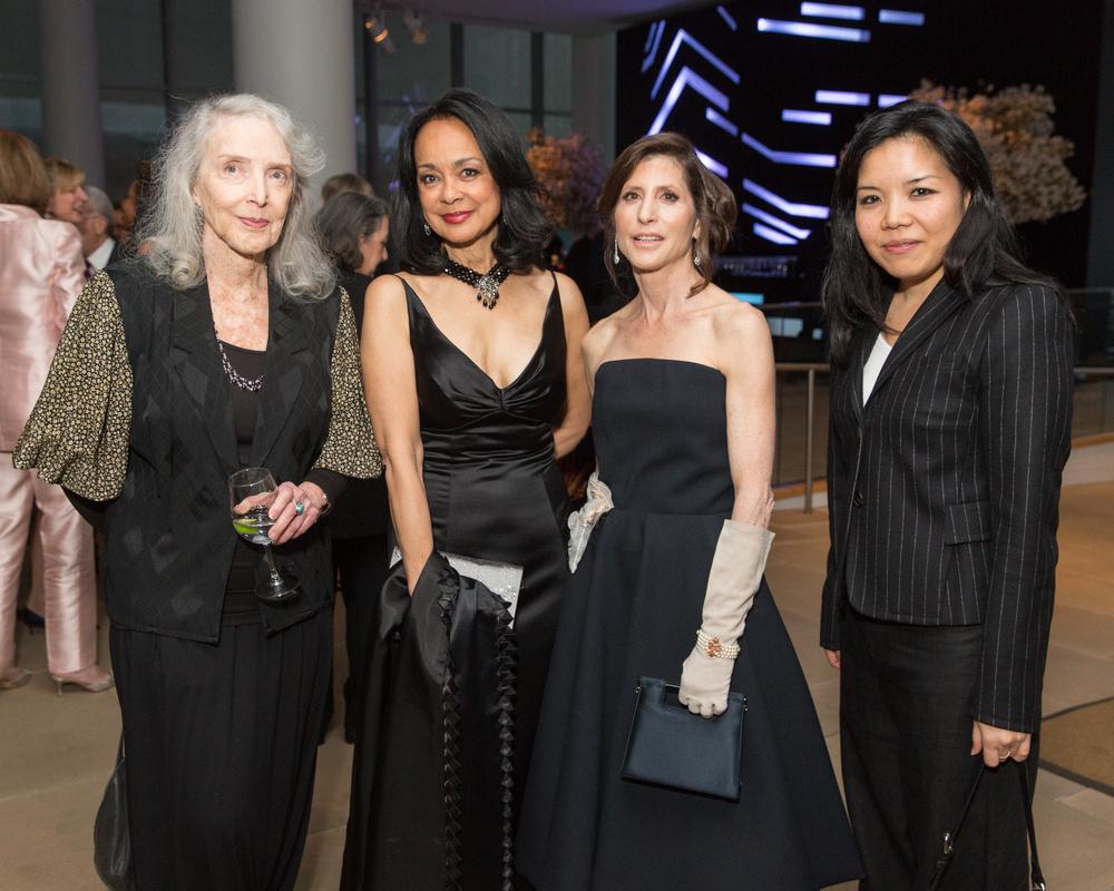 Joan Semmel, Alicia Bythewood, Melinda Pressure and Clara Kim