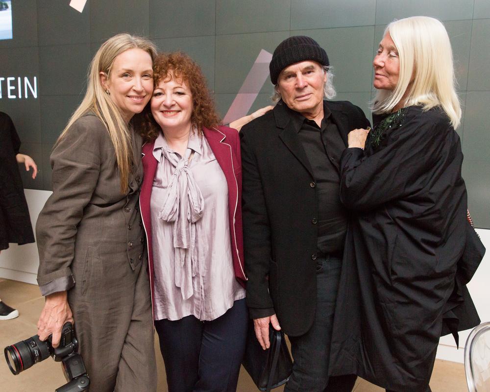 Jessica Craig Martin, Nan Goldin, Brice Marden and Helen Marden