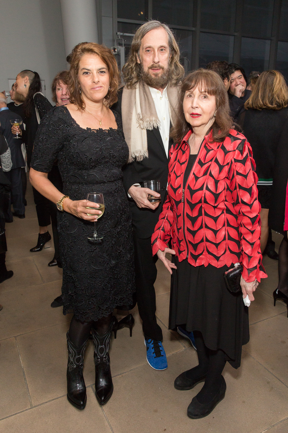 Tracey Emin, Jerry Gorovoy and Lois Plehn.jpg