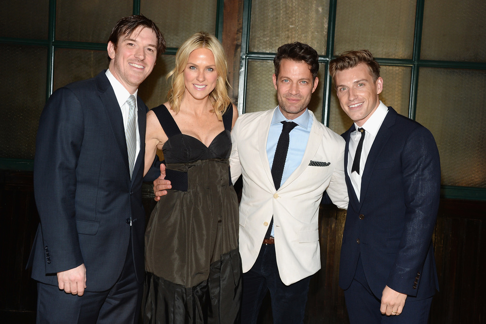 Co-hosts Conor and Elizabeth Grennan Nate Berkus and Jeremiah Brent.JPG
