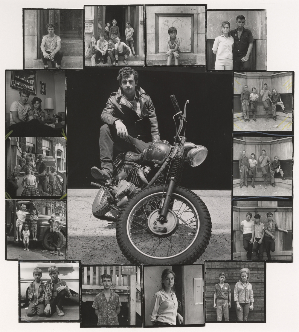 "Danny Lyon, ""Self-portrait, Chicago,"" 1965. Gelatin silver prints montage. 31.2 x 27.8 cm (12 1/4 x 10 15/16 in.). Collection of the artist. © Danny Lyon, courtesy Edwynn Houk Gallery, New York"