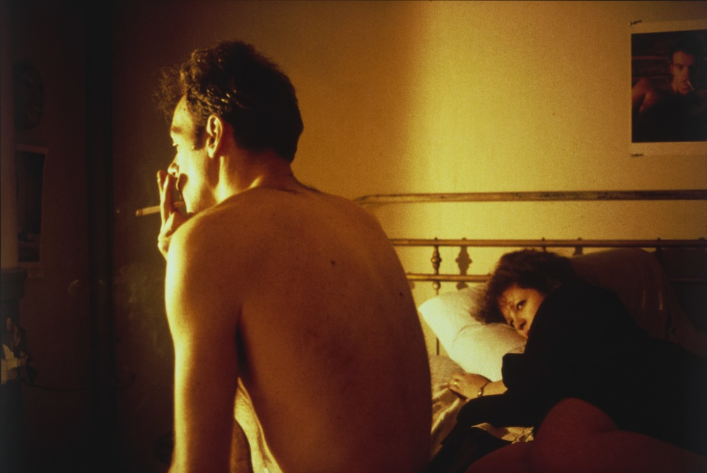 Nan Goldin (American, born 1953).   Nan and Brian in Bed, New York City  . 1983. Silver dye bleach print, printed 2006, 15 1/2 x 23 3/16″ (39.4 x 58.9 cm). The Museum of Modern Art, New York. Acquired through the generosity of Jon L. Stryker. © 2016 Nan Goldin