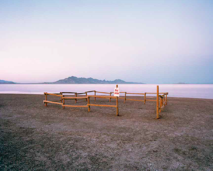 ©   Ryann Ford, Bonneville Salt Flats, Wendover, Utah. Image curtesy of powerHouse Books.