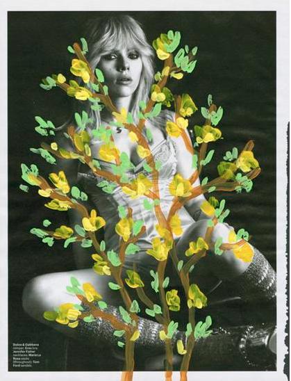 Untitled (Scarlet Johanson in Dolce Gabbana by Mert Alas & Marcus Piggott for W Magazine, March 2015), 2015