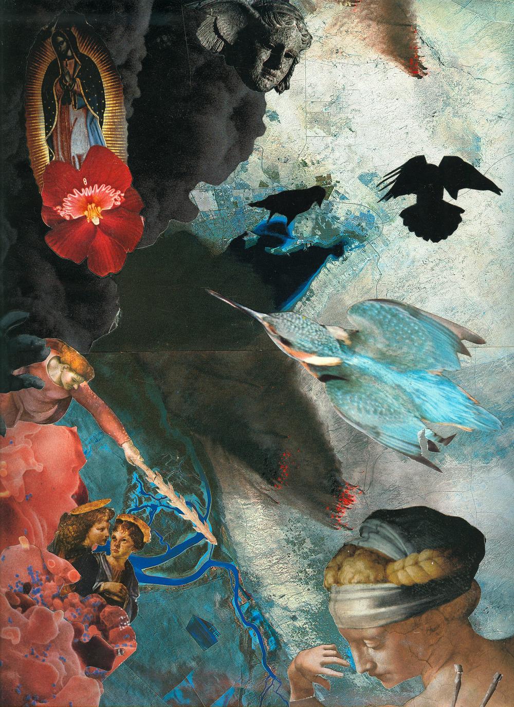 Agnieszka Sosnowska,Landing,Collage,1993