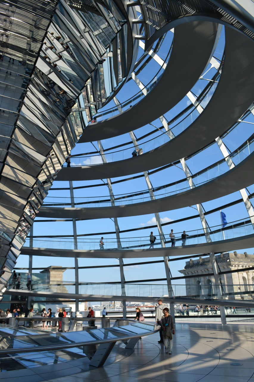 ©Lloyd Peterson, T he Reichstag Dome by Norman Foster, May 2016