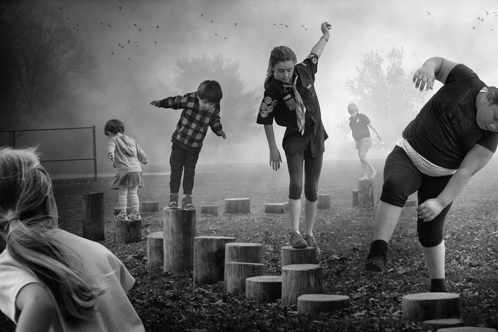 Follow the Leader   © Deb Young + Francisco Diaz