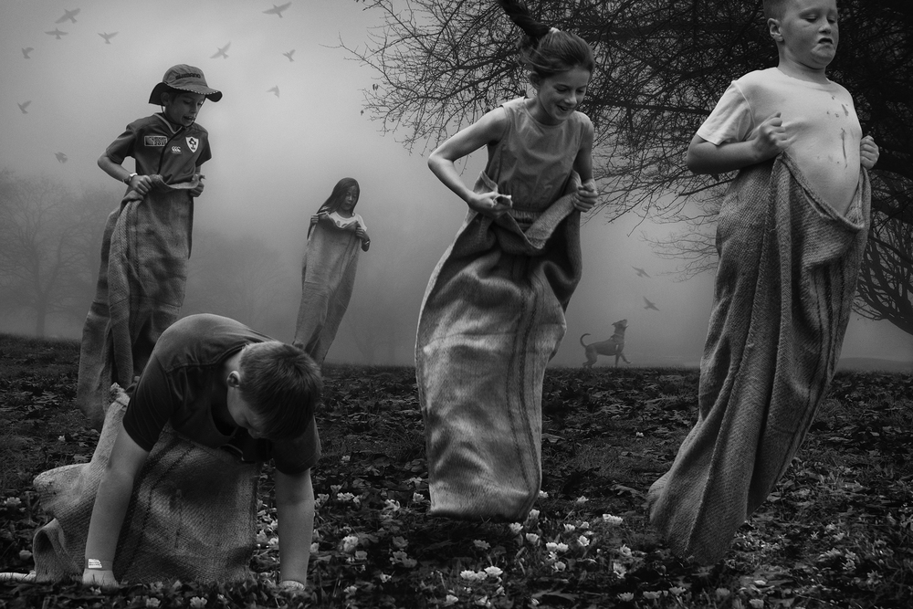The Sack Race   © Deb Young + Francisco Diaz