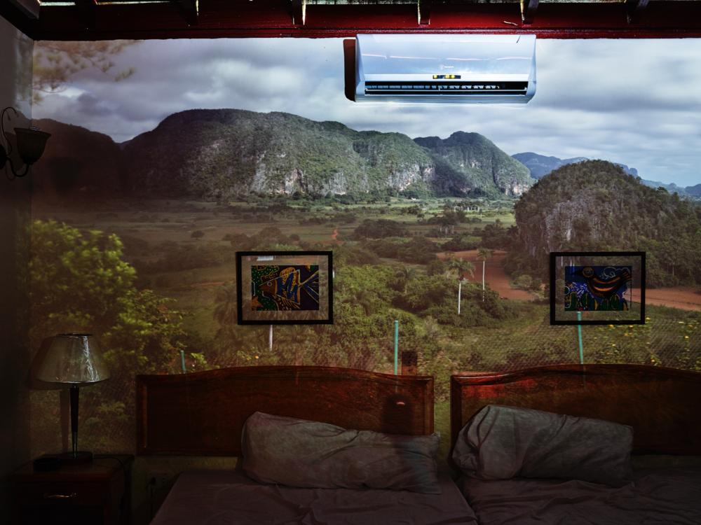 Abelardo Morell, Camera Obscura: View of Valle de Viñales, Pinar del Rio, Cuba, 2014.