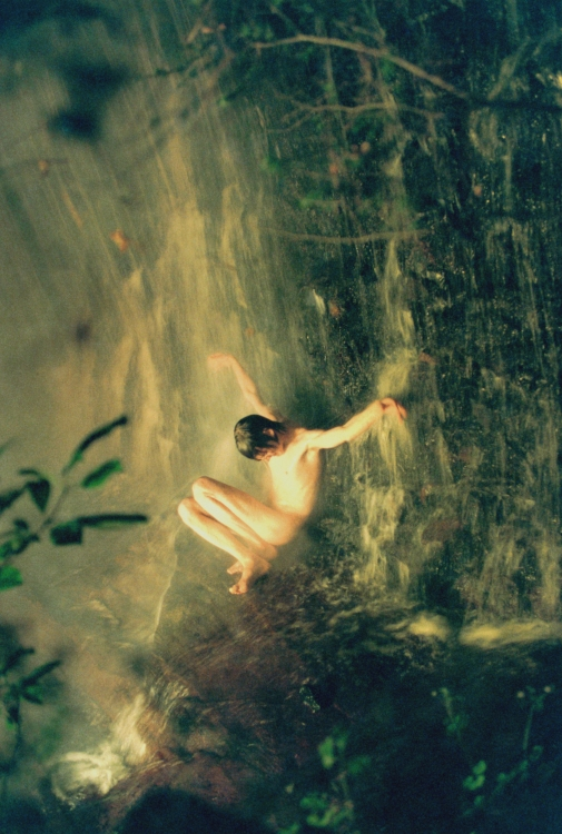 ©Ryan Mcginley, Opposite: Jonas (Waterfall), 2008