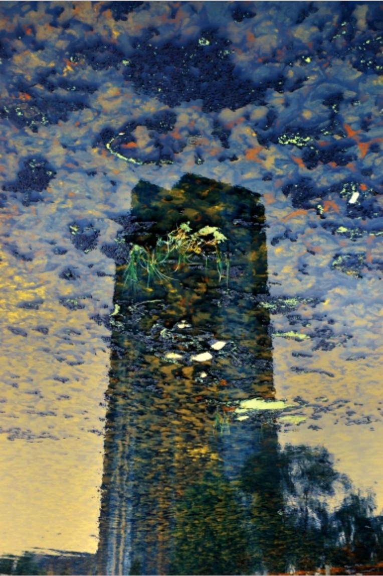 Han Bing, Dionysus Bridge Garbage Station, 2005, Single-Exposure C-Print Photograph 39 x 59 inches, 100 x 150 cm