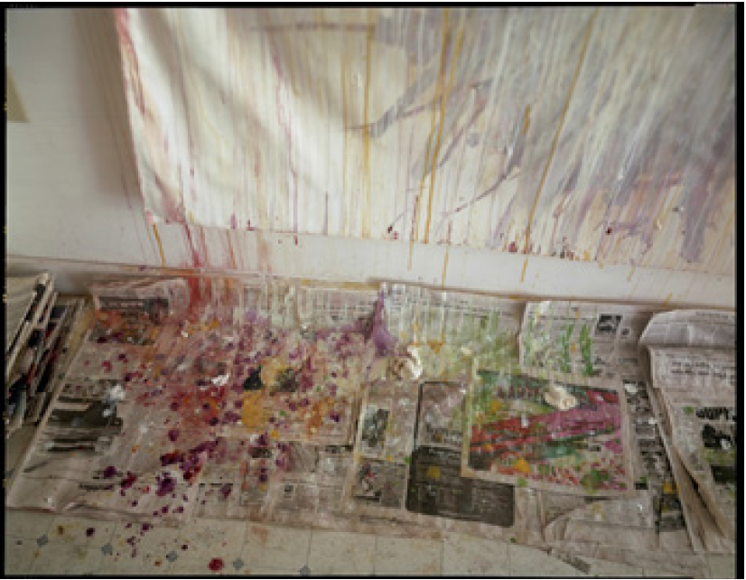 © Sally Mann Untitled (Drips and Newspaper)