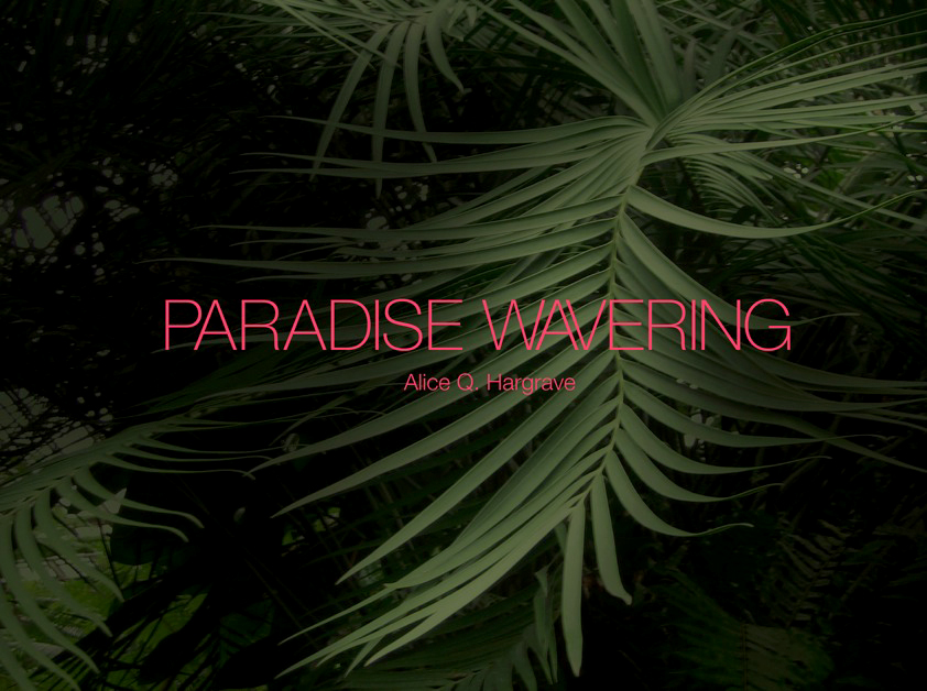 ©Paradise Wavering by Alice Hargrave, 2016 courtesy of Daylight Books