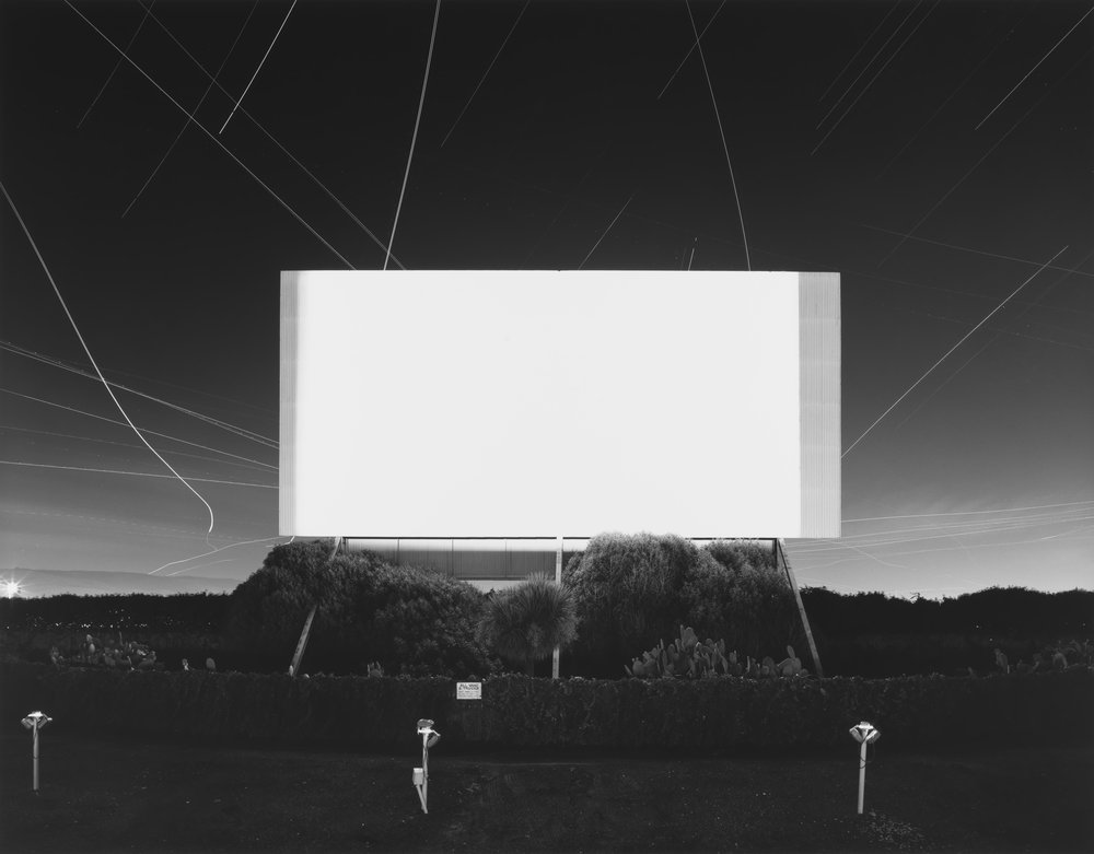 ©Theaters by Hiroshi Sugimoto, Union City Drive-In, Union City, 1993