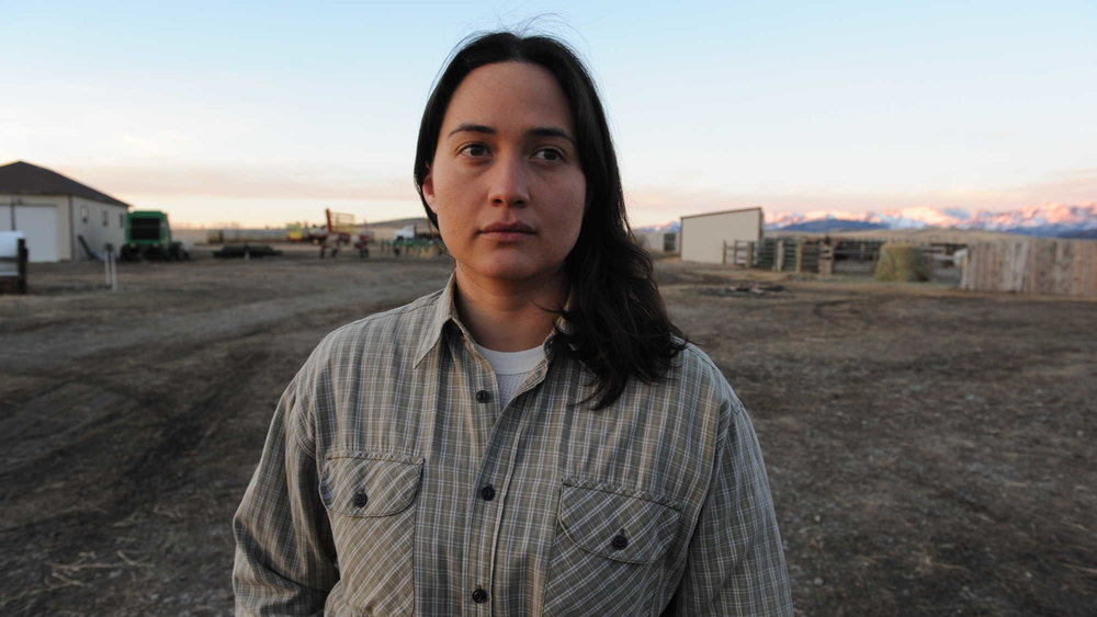"© Lily Gladwell playing ""The Rancher"" in  Certain Women, courtesy of google"