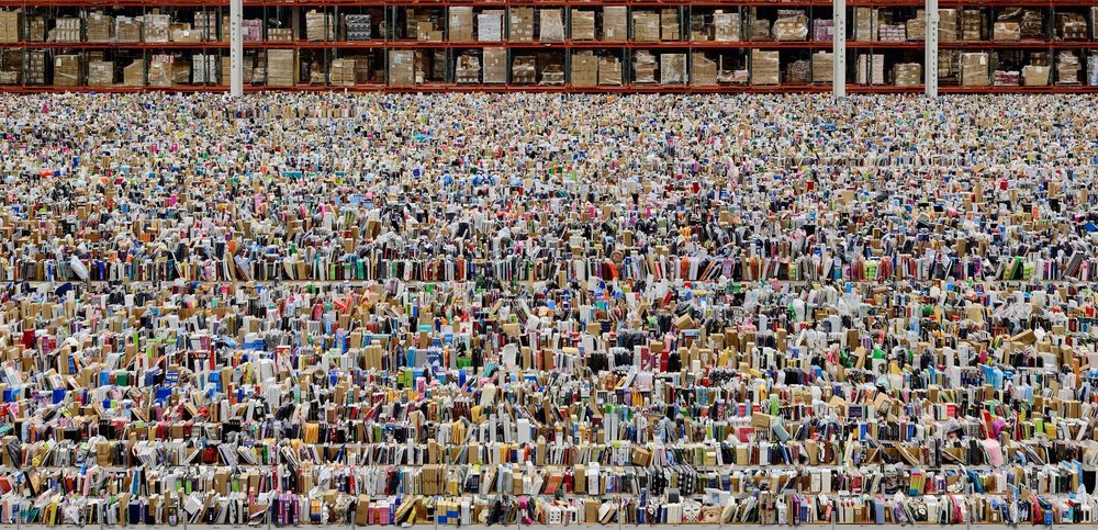 ANDREAS GURSKY Ohne Titel XVIII/Untitled XVIII, 2015 Inkjet print Framed 120 7/8 × 87 3/16 × 2 7/16 inches © Andreas Gursky / 2016 Artists Rights Society (ARS), New York / VG Bild-Kunst, Bonn. Courtesy Gagosian.