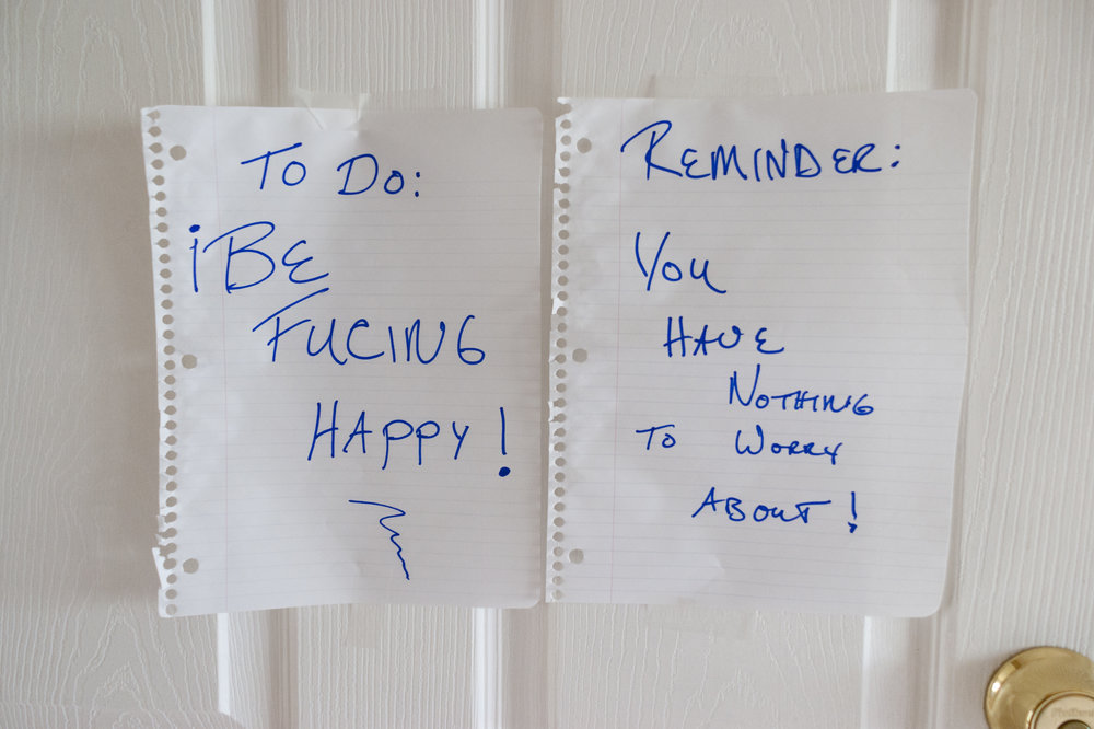 ©Melissa Spitz,  Note From Adam to Mom , 2012
