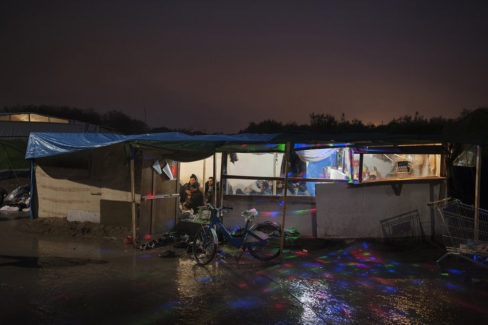 Courtesy of Angkor Photo Festival and Workshops, Giulio Piscitelli: Informal Facilities in the Jungle Italy/France