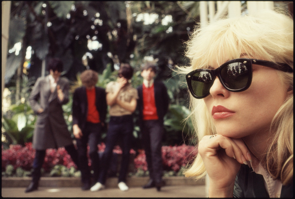 Blondie at the Arboretum  Golden Gate Park, San Francisco. April 19, 1977