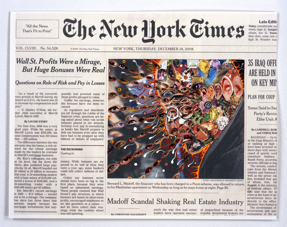 © Fred Tomaselli,  December 18, 2008,  2009