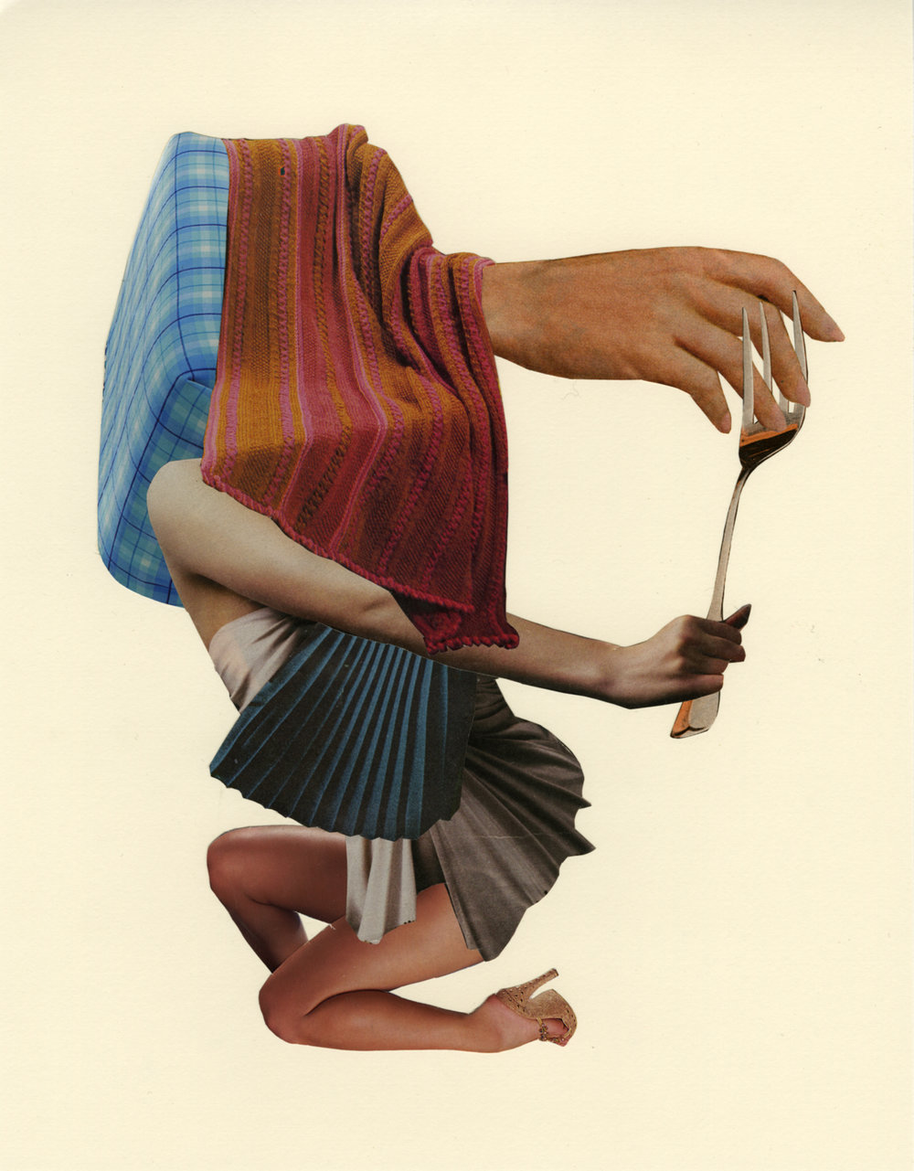 Maneater,  2014, Collages